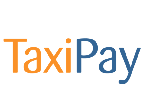 Taxi Pay Logo Card Large